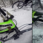 SixPack Racing Menace pedals not glogging from snow