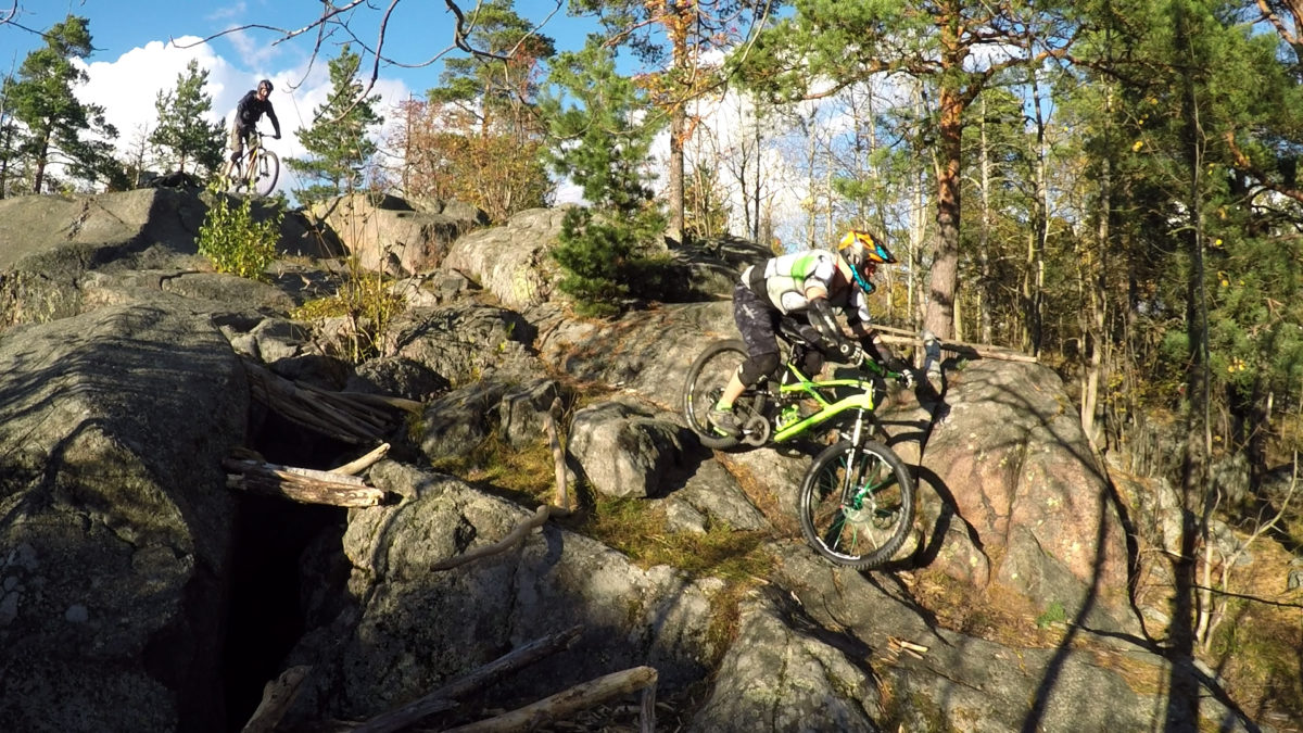 Myllykallio Enduro Training Center 3rd person + new line